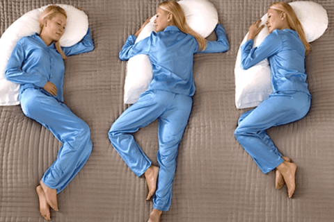 sleeping positions snoring