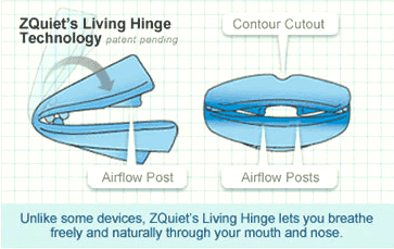 ZQuiet Living hinge Technology