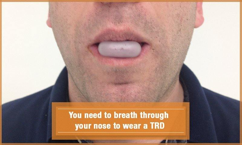 Breathe Through Nose With TRD