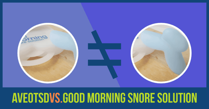 AVEOtsd vs. Good Morning Snore Solution