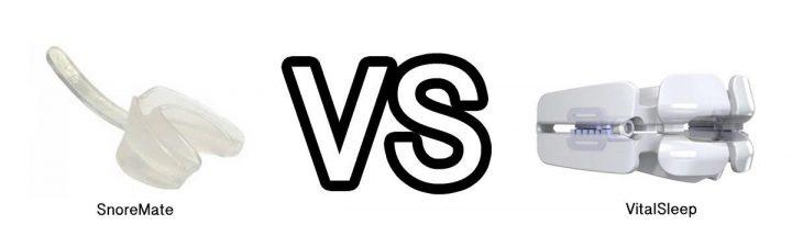 VitalSleep vs SnoreMate Reviews