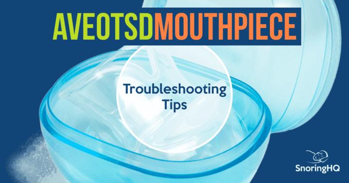 AVEOtsd Troubleshooting Tips
