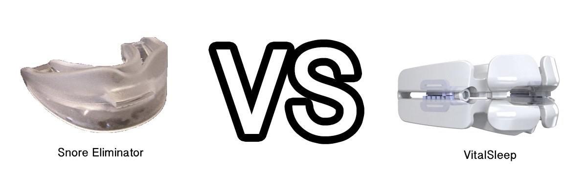 Snore Eliminator vs. VitalSleep
