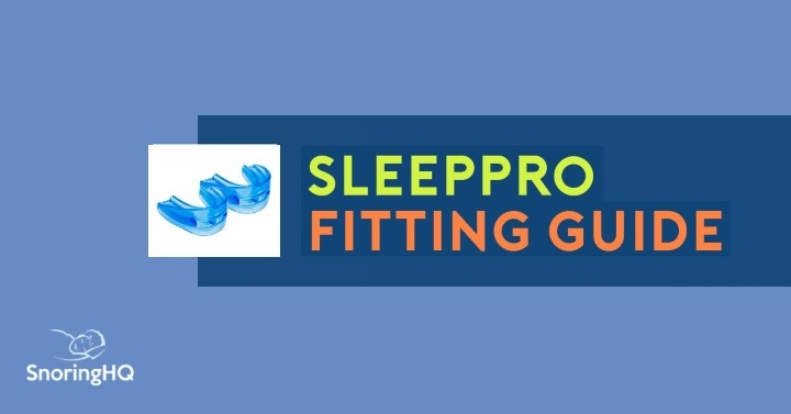 SleepPro Fitting Guide
