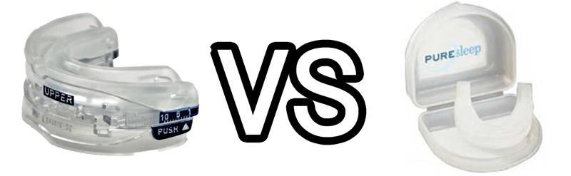 SnoreRX vs PureSleep