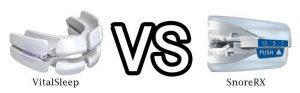 SnoreRX vs VitalSleep