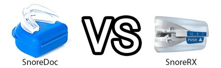 SnoreDoc vs SnoreRx