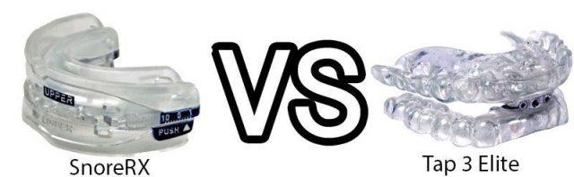 SnoreRX vs Tap 3 Elite