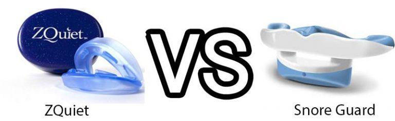 ZQuiet vs SnoreGuard