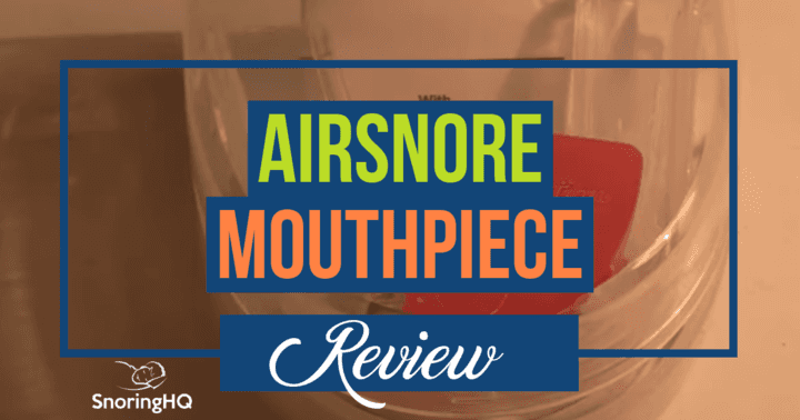 airsnore mouthpiece review
