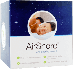 AirSnore anti-snore box