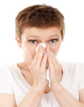 women with sinus issues