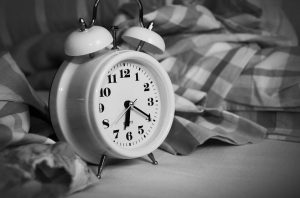 alarm to wake up