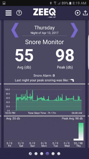 zeeq app snore monitor