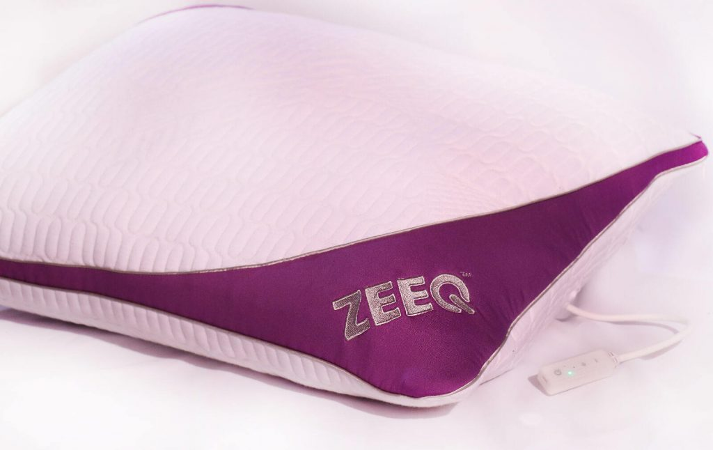 zeeq pillow with control led