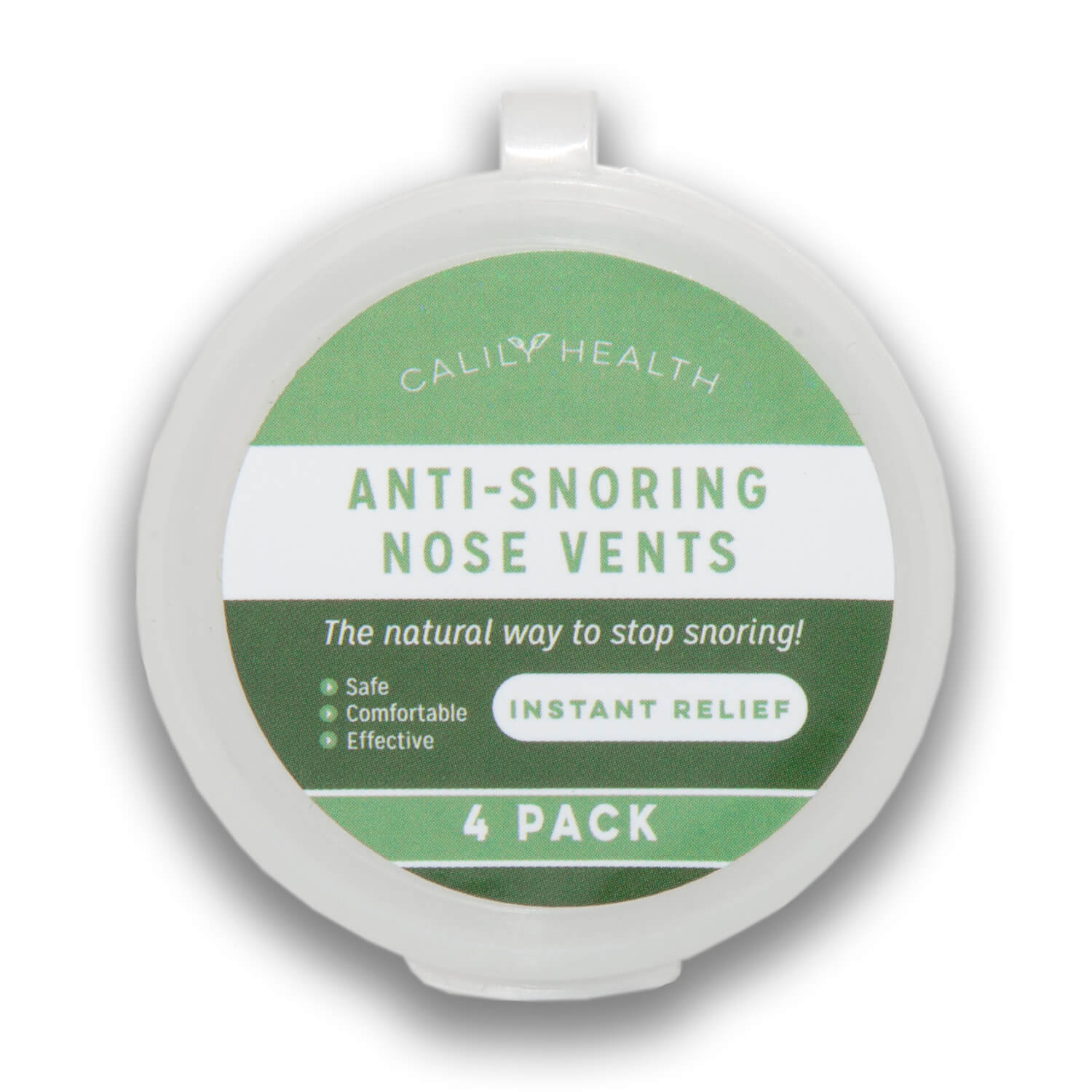 Review of Calily Health Anti-Snoring Nose Vents