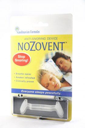 noZovent snore device box