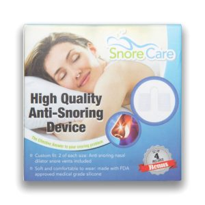 snorecare nasal dilator packaging