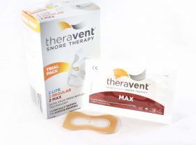 theravent snore therapy trial pack box