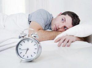 watching clock trying to sleep