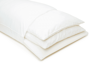 eight pillow with three layers