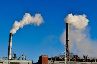 factories polluting the air