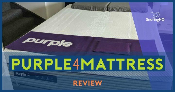 New Purple 4 Mattress Review