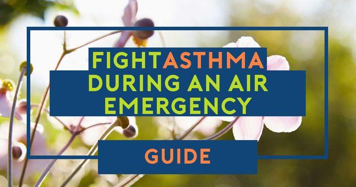 treat asthma when an air warning is in place