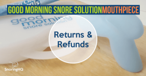 GMSS Returns and Refunds