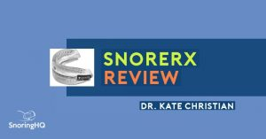Testing the SnoreRx on Four Snoring and Sleep Apnea Users, by Dr. Kate Christian