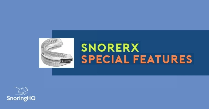 A Closer Look at the Features that Make SnoreRx Special