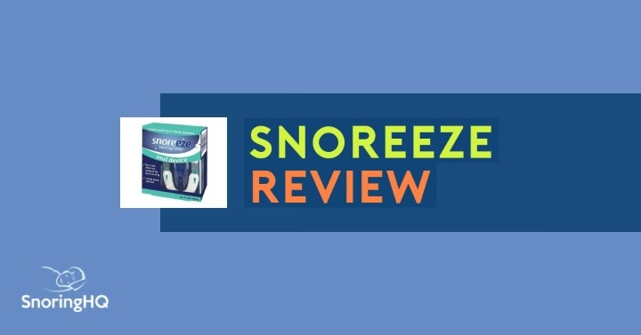 My Review of the Snoreeze Oral Device